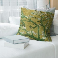 Porch & Den Vincent Van Gogh 'Almond Blossom' Throw Pillow found on Bargain Bro from Overstock for USD $46.98