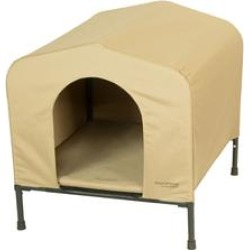 PortablePET Khaki HoundHouse Kennel and Shelter, Large found on Bargain Bro from petco.com for USD $82.35