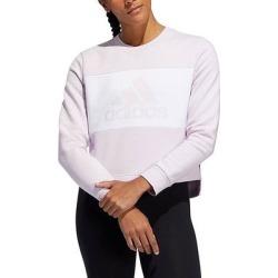 adidas Women's Sweatshirts and Hoodies AERPNK - Aeropink Color Block PG Crewneck Sweatshirt - Women found on Bargain Bro Philippines from zulily.com for $14.99
