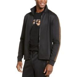 Michael Kors Mens Track Jacket Medium Full-Zip Leopard found on Bargain Bro from Overstock for USD $37.61