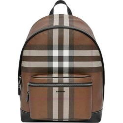 Check-pattern Backpack - Brown - Burberry Backpacks found on Bargain Bro from lyst.com for USD $633.08