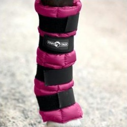 Horze Equestrian Cooling Horse Ice Wrap, Boysenberry Purple, 1 count found on Bargain Bro Philippines from Chewy.com for $34.99