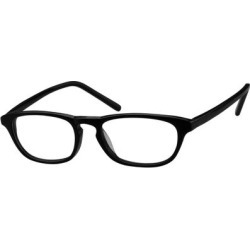 Zenni Geek Chic Oval Prescription Glasses Black Plastic Frame found on Bargain Bro India from Zenni Optical for $19.00