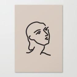 Canvas Print   Janey - Henri Matisse - Lithograph - Vintage Art Print - Digital Download - Printable Matisse Print by Lyndaloveplace - LARGE - Society6