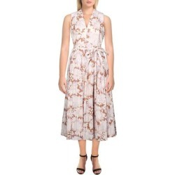 Kate Spade Womens Exotic Bloom Midi Dress Floral Print Burnout - Hot Cider found on MODAPINS from Overstock for USD $106.19