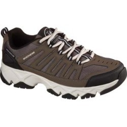 Skechers Men's Sneakers BRN - Brown Relaxed-Fit Crossbar Stilholt Sneaker - Men found on Bargain Bro India from zulily.com for $59.99