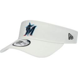 Miami Marlins New Era Clutch Adjustable Visor – White found on Bargain Bro Philippines from Fanatics for $24.99