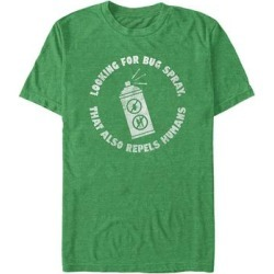 Fifth Sun Men's Tee Shirts KEL - Kelly Green Heather 'Bug Spray That Also Repels Humans' Tee - Men found on Bargain Bro Philippines from zulily.com for $15.99