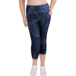 Puma Womens Athletic Leggings Fitness Running (Dark Denim/Be Bold Q1 Print - XL), Women's, Dark Blue/Be Bold Q1 Print found on Bargain Bro from Overstock for USD $13.18