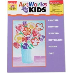Evan-Moor Educational Publishers Educational Books - Grades 1-6 ArtWorks for Kids Workbook found on Bargain Bro from zulily.com for USD $11.39