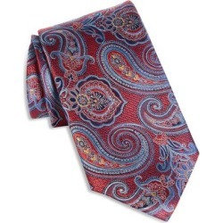 Paisley Silk Tie - Red - Canali Ties found on Bargain Bro India from lyst.com for $160.00