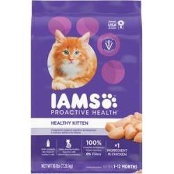 Iams ProActive Health Kitten Dry Cat Food, 16-lb bag