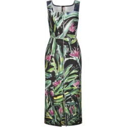 3/4 Length Dress - Green - Marni Dresses found on MODAPINS from lyst.com for USD $404.00