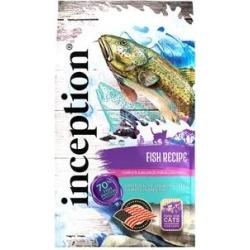 Inception Fish Recipe Dry Cat Food, 13.5-lb bag