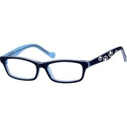 Zenni Kids Rectangle Prescription Glasses Blue Plastic Frame found on Bargain Bro India from Zenni Optical for $19.95