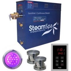 Steam Spa Indulgence 12 kW QuickStart Steam Bath Generator Package in Gray, Size 22.0 H x 22.0 W x 12.0 D in | Wayfair INT1200BN found on Bargain Bro Philippines from Wayfair for $1837.00