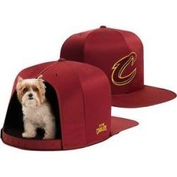 Nap Cap NBA Cat & Dog Bed, Cleveland Cavaliers, Small