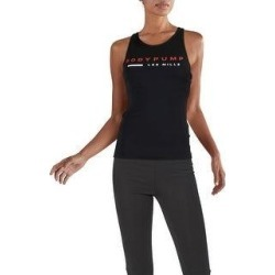 Reebok Womens Body Pump Shaping Tank Top Support Fitness - Black (M), Women's(polyester) found on Bargain Bro Philippines from Overstock for $28.49