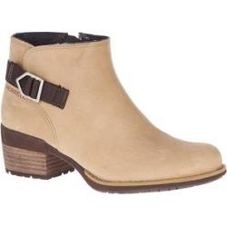 Merrell Women's Casual boots CAMEL - Camel Shiloh II Bluff Leather Ankle Boot - Women found on Bargain Bro Philippines from zulily.com for $54.99