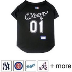 Pets First MLB Dog & Cat Jersey, Chicago White Sox, X-Small found on Bargain Bro Philippines from Chewy.com for $20.99