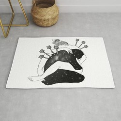 Our Battle. Modern Throw Rug by Muhammed Salah - 2' x 3' found on Bargain Bro Philippines from Society6 for $39.20