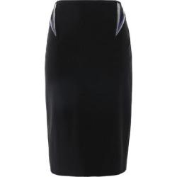 3/4 Length Skirt - Black - Mugler Skirts found on MODAPINS from lyst.com for USD $190.00
