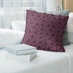 Porch & Den Baldock Hand-drawn Triangles Throw Pillow found on Bargain Bro from Overstock for USD $41.79