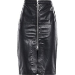 Leather Pencil Skirt - Black - Muubaa Skirts found on MODAPINS from lyst.com for USD $192.00