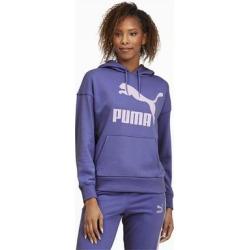 Classics Logo Hoodie - Blue - PUMA Sweats