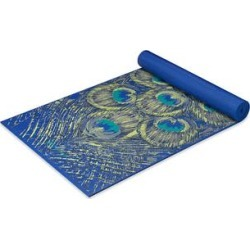 Gaiam Yoga Mats - Sapphire Feather 5-mm Yoga Mat found on Bargain Bro Philippines from zulily.com for $18.99