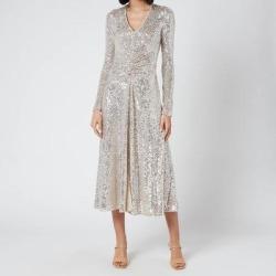 Sierra Dress - Metallic - ROTATE BIRGER CHRISTENSEN Dresses found on Bargain Bro from lyst.com for USD $351.12