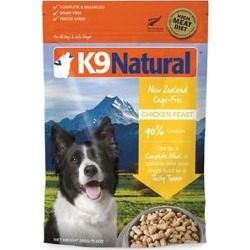 K9 Natural Chicken Feast Raw Grain-Free Freeze-Dried Dog Food, 1.1-lb bag found on Bargain Bro Philippines from Chewy.com for $40.99