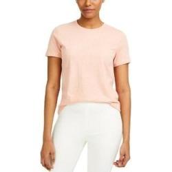 French Connection Womens Zawa T-Shirt Crewneck Boyfit (Light Grey Melon/Tin Green - S), Women's, Light Gray Melon/Tin Green(cotton) found on MODAPINS from Overstock for USD $13.04