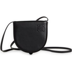 Small Heel Leather Crossbody Pouch - Black - Loewe Shoulder Bags found on MODAPINS from lyst.com for USD $550.00