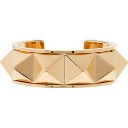 Gold Rockstud Bracelet - Metallic - Valentino Garavani Bracelets found on Bargain Bro from lyst.com for USD $494.00