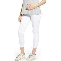 Ankle Super Skinny Maternity Jeans - White - 1822 Denim Jeans found on Bargain Bro India from lyst.com for $59.00