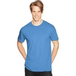 Hanes Men's Nano-T T-shirt (Deep Royal - 3XL) found on Bargain Bro India from Overstock for $17.18