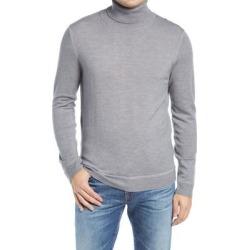 Merino Wool Garment Dye Turtleneck Sweater - Gray - Nordstrom Knitwear found on Bargain Bro from lyst.com for USD $45.60