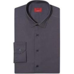 Alfani Mens Stretch Button Up Dress Shirt (Gray - 16