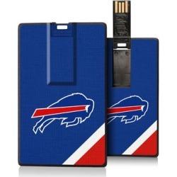 Buffalo Bills Diagonal Stripe Credit Card USB Drive found on Bargain Bro from nflshop.com for USD $18.99