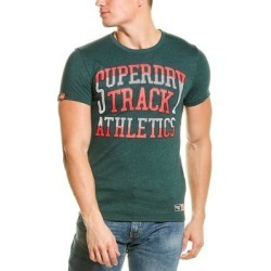 Superdry Track & Field T-Shirt (XL), Men's, Green found on Bargain Bro Philippines from Overstock for $21.99