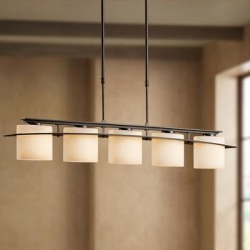 Hubbardton Forge Arc Ellipse 5-Light Wrought Iron Chandelier found on Bargain Bro India from LAMPS PLUS for $2134.00
