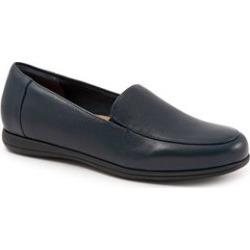 Women's Deanna Slip Ons by Trotters in Navy (Size 10 M) found on Bargain Bro Philippines from Roamans.com for $99.99