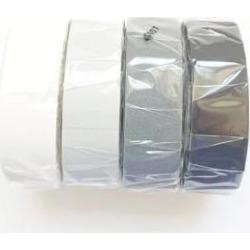 MT masking tape - Set Of 4 Grey Scale Washi Masking Tapes