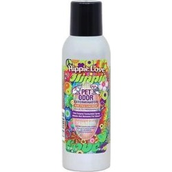 Pet Odor Exterminator Hippie Love Air Freshener, 7-oz bottle found on Bargain Bro from Chewy.com for USD $4.55