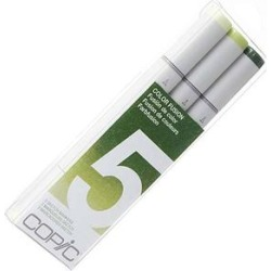 Copic Markers none - Green Sketch Marker Fusion Set found on Bargain Bro India from zulily.com for $15.99