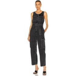 Elin Jumpsuit - Black - Agolde Jumpsuits found on MODAPINS from lyst.com for USD $209.00
