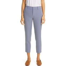 Soft Tailored Crop Trousers - Blue - Vince Pants found on Bargain Bro from lyst.com for USD $94.24