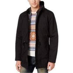 American Rag Mens Two-In-One Parka Coat (XX-Large), Men's, Black(polyester, solid) found on MODAPINS from Overstock for USD $69.43