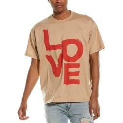 Burberry Oversized T-Shirt (L), Men's, Beige found on Bargain Bro India from Overstock for $439.99